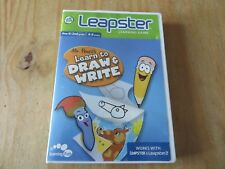 Leapfrog Leapster Mr. Lápices aprender a dibujar & Escribir Juego funciona con 1 y 2