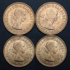 UK Great Britain 1/2 (0.5) Penny, 1967, KM#896, Single coin, XF-UNC, Original
