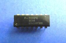 7400PC  TTL 4 x 2 INPUT NAND GATE  FAIRCHILD