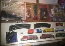 Life Like #8795 HO Scale Santa Fe #3500 & 3600 (A&B) Heavy Hauler Train Set NR!