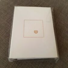 Ted Baker White Wedding Cards 'Tie The Knot' New RRP £15