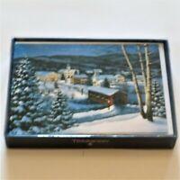 "Trimmerry 16 Holiday Cards & White Envelopes ""Season's Greetings"" NIB"