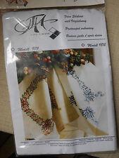 Sticktischdecke, Decke zum sticken, Komplettpackung, 90x90cm, Weihnachtsmotiv, W