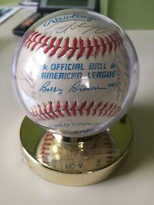 1989 NEW YORK YANKEES AUTOGRAPHED BASEBALL.