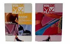 Winsor Pilates Basic 3 DVD Set Fitness Exercise Workout Mari Winsor BONUS DVD