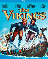 THE VIKINGS (Kirk Douglas) - BLU RAY - Region A - Sealed