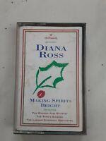 Diana Ross - Making Spirits Bright Audio Cassette Tape 1994 Hallmark