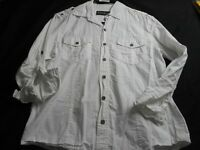 English Laundry White Button Front 12 Women's Shirt
