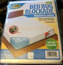 BedBug DustMites Blockade Mattress Cover Protection Encase Queen 60�x80�x12� New