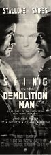 "13/11/93PGN12 MOVIE ADVERT 15X5"" STALLONE & WESLEY SNIPES IN DEMOLITION MAN"