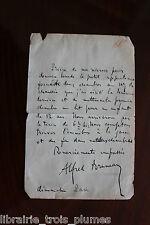 ✒ L.A.S. Alfred BRUNEAU compositeur souhaite louer deux chambres