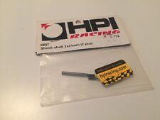 HPI Racing Sprint 2 HPI 3x31mm Shock Shaft (2) HPI6807 6807