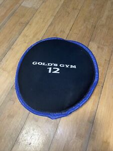 Golds Gym 12 Lb Blue Soft Ab Workout Weight. Fast Shipping. Great Condition.