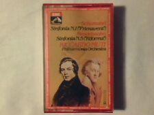 RICCARDO MUTI Schumann: Sinfonia n. 1 Mendelssohn: sinfonia n. 5 mc cassette k7