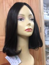 Malky Wig Sheitel European Multidirectional Human Hair Wig Darkest Brown #2/7