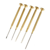5pieces Watch Screwdrivers Set Kit Jewelers Flat Repair Tools For Watchmaker