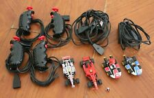 Carrera Racing Lot - 4 Slot Cars, Charging Packs, Speed Controllers - Tested