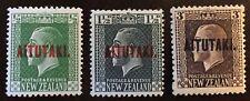 1917-20 AITUTAKI  MH  Scott # 19,21,25