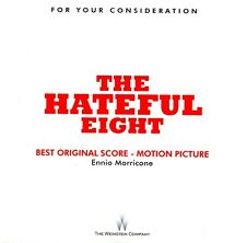 THE HATEFUL EIGHT Ennio Morricone CD Best Original Score FYC Western + PROGRAM!