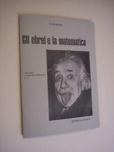 EVOLA Julius: GLI EBREI E LA MATEMATICA, Sentinella d'Italia, 1978