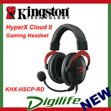 Kingston HyperX Cloud II 7.1 Channel USB Gaming Headset - Black/Red