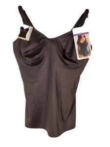 Cupid Wonderful U Women's Extra Firm Control Camisole BLACK Multiple Sizes