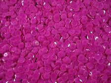 Sequins Cup 6mm Magenta Pink Opaque 25g Dancing Costumes FREE POSTAGE