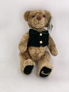 HARROD'S Knightbridge London Rodney Teddy Bear Jointed Stuffed Plush Animal