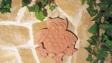Terracotta Wanddeko Eule Tier Toscana Gartendekoration Bild Garten Terrasse Haus