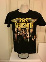 VTG Aerosmith Rock Band THE GLOBAL WARMING Tour Concert Graphic T-Shirt Small