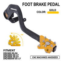 JFG Rear Foot Brake Lever Pedal For Suzuki DRZ400 DRZ400S DRZ400E DRZ400SM Gold