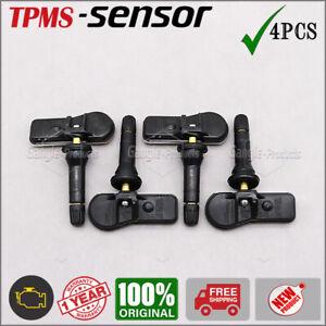 New Set of 4 Tire Pressure Sensor TPMS for Peugeot Expert Citroen Jumpy Fiat
