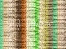 NORO ::Kureyon #350:: wool knitting yarn Ecru-Lime-Nut-Yellow-Mint