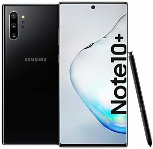 USED- Samsung Galaxy Note 10+ Plus SM-N9750 Black - Dual Sim