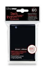 Ultra Pro 60 pouches Deck Protector cards Small 62 x 3 1/2in Black 82964