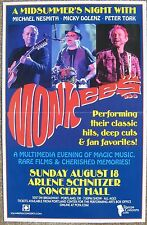MONKEES 2013 Gig POSTER Portland Oregon Concert
