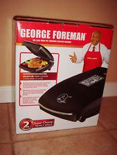 George Foreman GR20B Super Champ Indoor Kitchen Grill