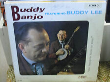 Buddy Banjo Buddy Lee LP Buddy Records VG+ Stereo SIGNED Private