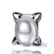 High Quality T&T 316L S.Steel Clear Crystal Stud Earring Single (Ez47)