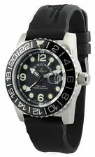 ZENO WATCH Airplane Diver GMT Quartz