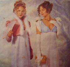 Butterick 6631 JANE AUSTEN REGENCY Dress Jacket size 12-16 Sewing Pattern