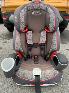 Graco Girls nautilus 65 3-in-1 harness booster gently taken care of car seat