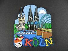 Magnet Köln Cologne Germany,Dom,Rhein,Karneval,RUBBER KOLLEKTION