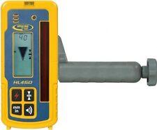 Spectra Laser HL450 laser Receiver Laserometer w/Rod Clamp 18046