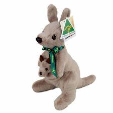 "Australian Made Kangaroo With Joey Large Stuffed Animal 12""/30cm Plush Toy"