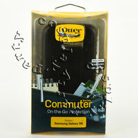 OtterBox Commuter 2-Layers Slim Case Snap Cover For Samsung Galaxy S6 (Black)