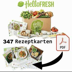 Hellofresh 347 Rezeptkarten als PDF Hello Fresh Rezepte