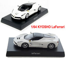 1/64 KYOSHO White LaFerrari Diecast Model Minicar Collection Vehicles Toys Gift