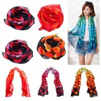 Women Clothing Lady Shawl Silk Chiffon Scarf Women Scarf Long Soft Wrap