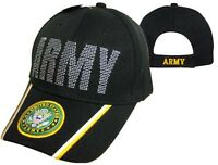 US ARMY OFFICIALLY LICENSED WITH SEAL & EMBROIDERED Baseball Hat Baseball cap